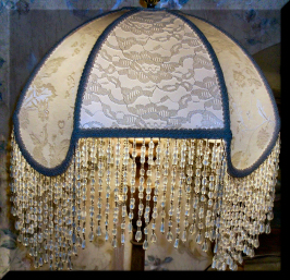 Enchanting victorian lampshades victorian lampshadelampshade only the finest new silks satins chiffons trims beaded fringes and rayon fringes are used in creating my handmade victorian lampshades aloadofball Gallery