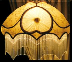 Enchanting Victorian Lampshades, Victorian Lampshade,Lampshade Restoration,  Vintage Victorian Era Lamp Shades, Floral Lampshade, Victorian Lampshades,  Small ...